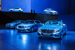FRANKFURT - SEPT 21: MERECEDES-BENZ  presented as world premiere Royalty Free Stock Images