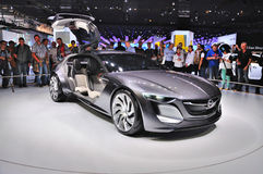 FRANKFURT - SEPT 14: Opel Monza Concept presented as world premi Royalty Free Stock Image