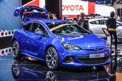 FRANKFURT - SEPT 2015: Opel OPC presented at IAA International M Stock Image