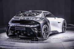 FRANKFURT - SEPT 2015: Peugeot Fractal pojęcie przedstawiający przy IAA Zdjęcie Royalty Free