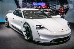 FRANKFURT - SEPT. 2015: Porsche-Opdrachte Concept bij IA wordt voorgesteld die Stock Foto's