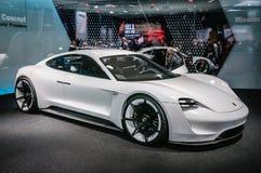 FRANKFURT - SEPT. 2015: Porsche-Opdrachte Concept bij IA wordt voorgesteld die Royalty-vrije Stock Fotografie