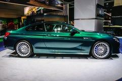 FRANKFURT - SEPT 2015: Presente för BMW Alpina B6 Biturbo upplaga 50 Royaltyfri Fotografi