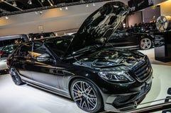 FRANKFURT - SEPT. 2015: Raket 900 van Brabus Mercedes-Maybach presen Royalty-vrije Stock Foto