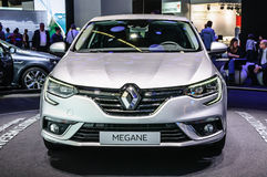 FRANKFURT - SEPT 2015: Renault Megane presented at IAA Internati Stock Photos
