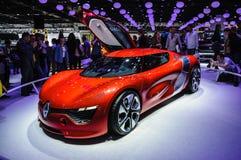 FRANKFURT - SEPT 21: Renault A110-50 pojęcia samochodu Alpejski presente zdjęcie royalty free