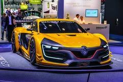 FRANKFURT - SEPT 2015: Renault Sport R S begrepp 01 framlade a Royaltyfria Bilder