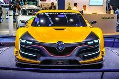 FRANKFURT - SEPT 2015: Renault Sport R S begrepp 01 framlade a Arkivfoton