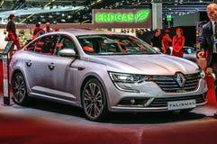 FRANKFURT - SEPT 2015: Renault Talisman presented at IAA Interna Royalty Free Stock Photography