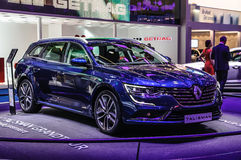 FRANKFURT - SEPT 2015: Renault Talisman presented at IAA Interna Stock Photography