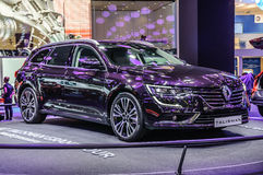 FRANKFURT - SEPT 2015: Renault Talisman presented at IAA Interna Stock Image