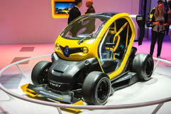 FRANKFURT - SEPT 21: RENAULT TWIZY presented as world premiere a Stock Photos