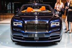FRANKFURT - SEPT 2015: Rolls-Royce Phantom Coupe presented at IA Royalty Free Stock Image