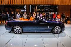 FRANKFURT - SEPT 2015: Rolls-Royce Phantom Coupe presented at IA Stock Images