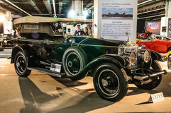 FRANKFURT - SEPT 2015: Rolls Royce Silver Ghost presented at IAA Royalty Free Stock Photo