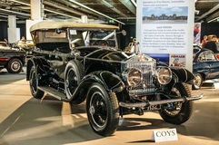 FRANKFURT - SEPT 2015: Rolls Royce Silver Ghost presented at IAA Stock Photography