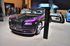 FRANKFURT - SEPT 14: Rolls-Royce Wraith presented as world premi Stock Images
