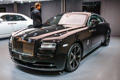FRANKFURT - SEPT 2015: Rolls-Royce Wraith presented at IAA Inter Royalty Free Stock Photos