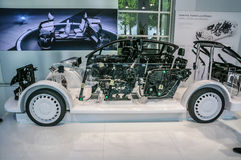 FRANKFURT - SEPT 2015: samochodowy pojęcie przedstawiający przy IAA zawody międzynarodowi Obrazy Stock