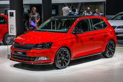 FRANKFURT - SEPT 2015: Skoda Fabia Combi presented at IAA International Motor Stock Photography