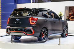 FRANKFURT - SEPT 2015: SsangYong XLV presented at IAA Internatio Stock Images
