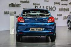 FRANKFURT - SEPT 2015: Suzuki Baleno presented at IAA Internatio Stock Photo