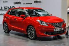 FRANKFURT - SEPT 2015: Suzuki Baleno presented at IAA Internatio Stock Image