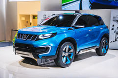 FRANKFURT - SEPT 21: Suzuki iV-4 Concept presented as world prem Royalty Free Stock Photography