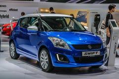 FRANKFURT - SEPT 2015: Suzuki Swift presented at IAA Internation Royalty Free Stock Photos