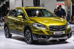 FRANKFURT - SEPT 2015: Suzuki SX4 S-Cross presented at IAA Inter Royalty Free Stock Image