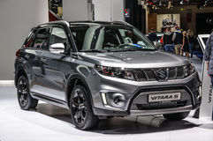 FRANKFURT - SEPT 2015: Suzuki Vitara S presented at IAA Internat Stock Photos