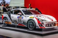 FRANKFURT - SEPT 2015: Toyota CS-V3 GT WTCC WRC przedstawiający przy IAA Zdjęcie Royalty Free