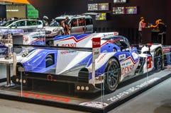 FRANKFURT - SEPT 2015: Toyota hybryd TS040 przedstawiający przy IAA Inte Zdjęcia Stock