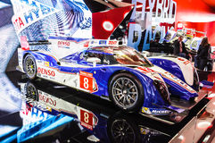 FRANKFURT - SEPT 21: Toyota TS030 Hybrid presented as world prem Royalty Free Stock Image