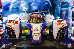 FRANKFURT - SEPT 21: Toyota TS030 Hybrid presented as world prem Royalty Free Stock Images