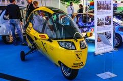 FRANKFURT - SEPT 2015: X-Tracer E-Tracer Prototype presented at. IAA International Motor Show on September 20, 2015 in Frankfurt, Germany Stock Images
