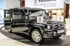 FRANKFURT - SEPT 2015: Trasco Premium SUV Mercedes Royalty Free Stock Photo