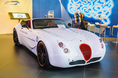 FRANKFURT - SEPT 21: WIESMANN ROADSTER MF2 presented as world pr Stock Photo