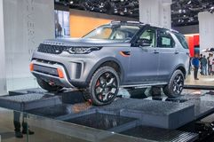 Land Rover Discovery Royalty Free Stock Photography