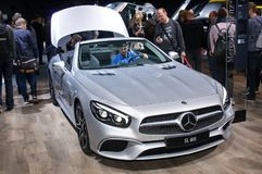 Mercedes-Benz  SL400 Royalty Free Stock Photography