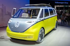 Volkswagen I.D. Buzz Stock Photos