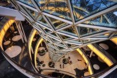 Frankfurt shoppinggalleria Arkivbild