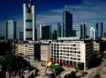 Frankfurt-Skyline Lizenzfreies Stockfoto
