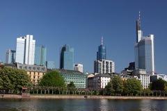 Frankfurt-Skyline Lizenzfreie Stockfotografie
