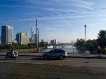 Frankfurt-Skyline 2 Lizenzfreie Stockfotos