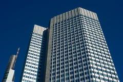 Frankfurt skyline Royalty Free Stock Image