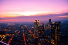 Frankfurt. Skyline, Germany stock images