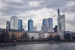 Frankfurt Skyline, Germany Royalty Free Stock Photography