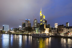 Frankfurt Skyline Royalty Free Stock Photography