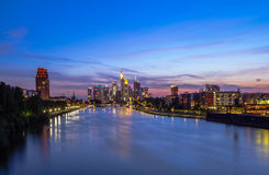 Frankfurt Skyline Stock Photos